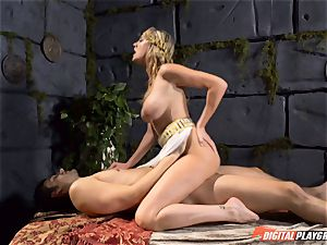 Brett Rossi knows how to heal an antsy meatpipe