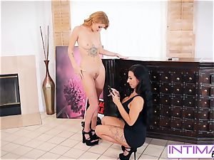 meaty donk Lily Lane And Arya Fae get down and sloppy