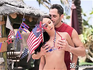 PASSION-HD Backyard 4th of July outdoor plumb
