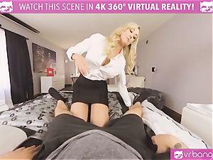 VRBangers.com-MILF is ramming a hitachi in her gash