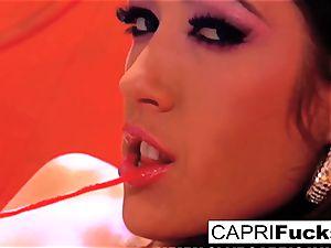 Capri Cavanni ultimately pounds London Keyes