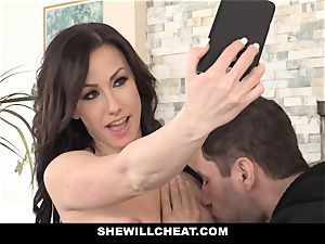 SheWillCheat hot wifey Cheats with hubbies accomplice
