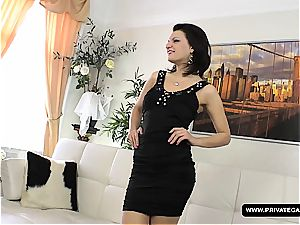 Russian Masha More Has a casting with hard-core ass fucking hump