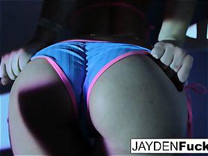 Jayden enjoys to have handsome fun
